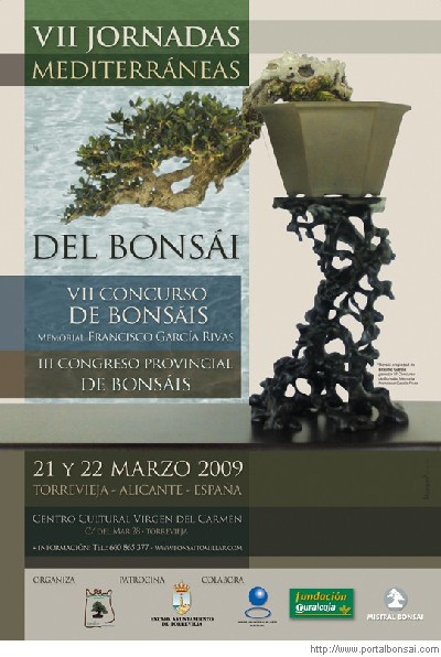 VII CONCURSO BONSAIS Y III CONGRESO PROVINCIAL ALICANTE